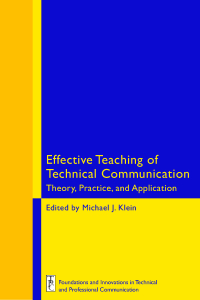 Effective Teaching of Technical Communication