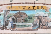 Edgewater mural by Jeff Lauwers