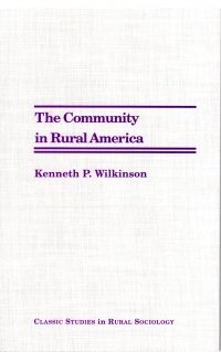 The Community in Rural America