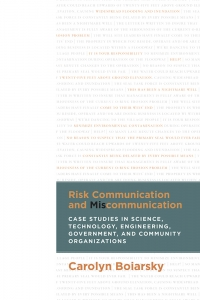 Risk Communication and Miscommunication